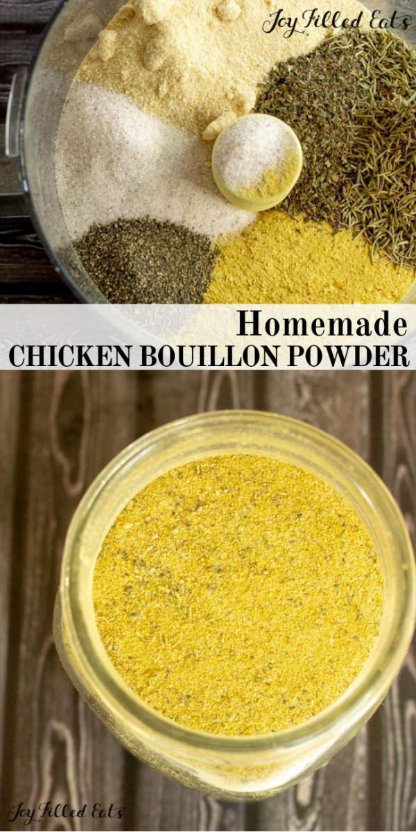 Homemade Chicken Bouillon Powder - Vegan Chicken Broth Substitute