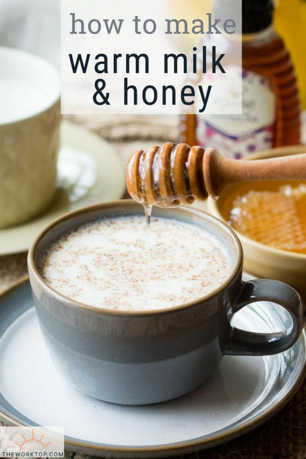Warm Spiced Milk and Honey Drink Recipe