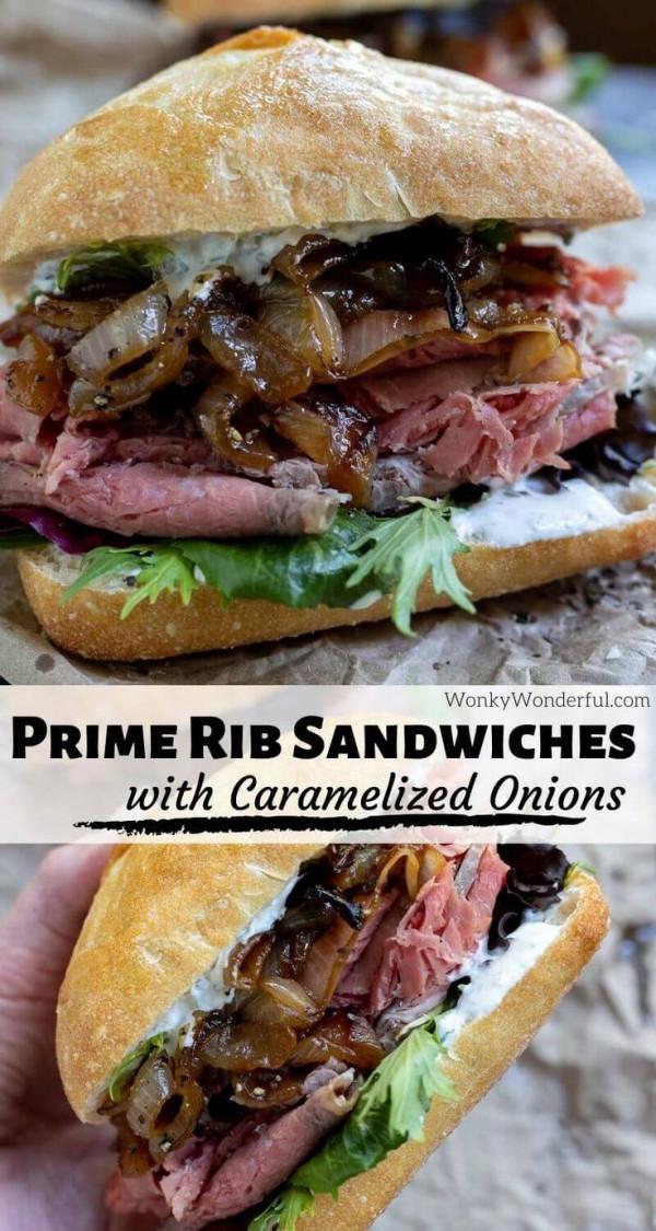 Leftover Prime Rib Sandwich Recipe
