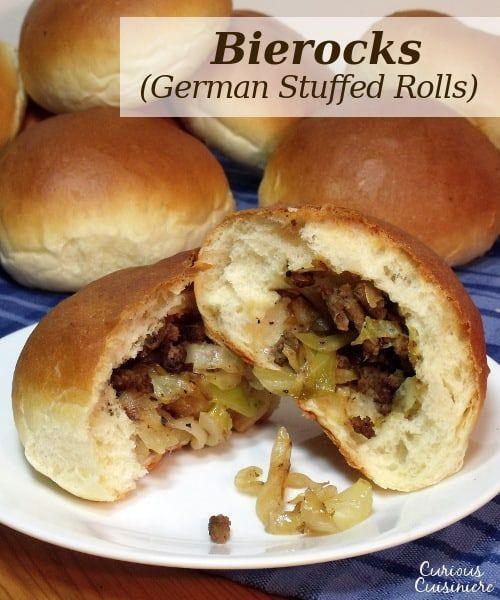 Bierocks - German Stuffed Rolls