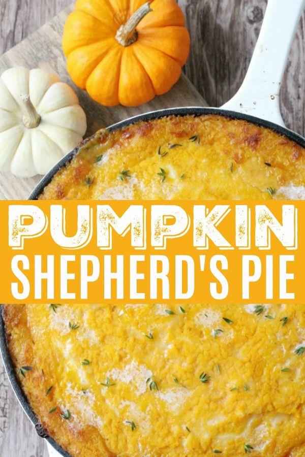 Pumpkin Shepherd's Pie