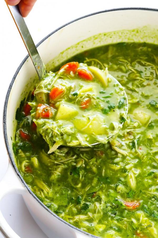Aguadito De Pollo (Peruvian Chicken Soup)