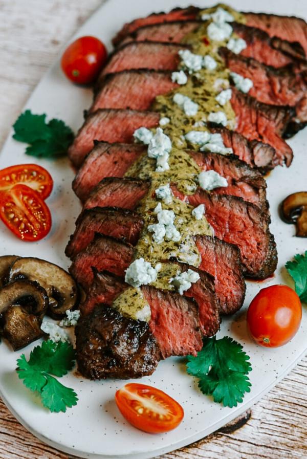 Pan-Seared Steak with Buttery Dijon Sauce
