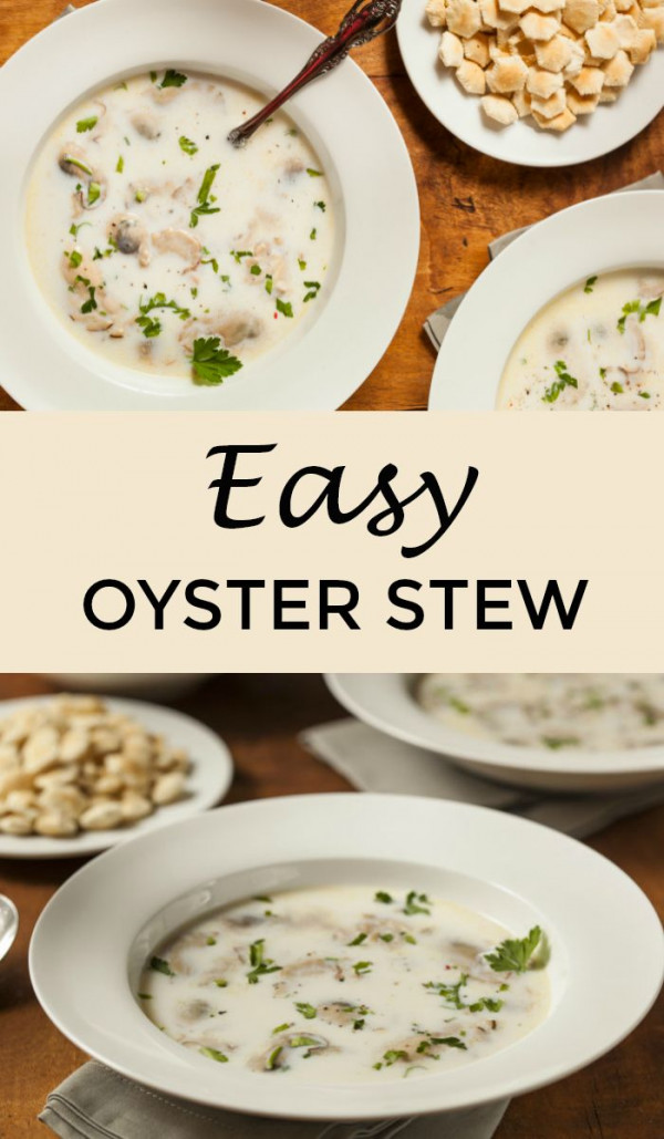 Oyster Stew Recipe With Canned Oysters