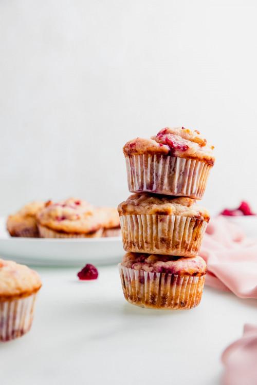 Gluten-Free Raspberry Muffins
