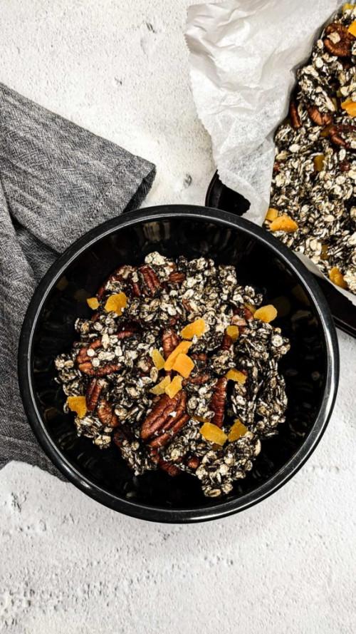 Best Black Sesame Granola