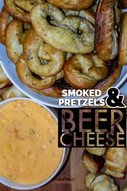 Smoked Pretzels and Beer Cheese