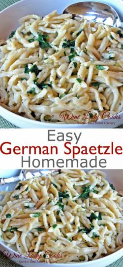 Easy Homemade German Spaetzle Recipe