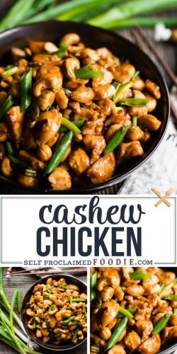 Perfect Cashew Chicken Recipe