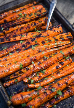 Grilled and Glazed Carrots Recipe - A great holiday side dish