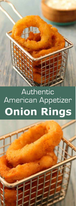 Authentic American Onion Rings & Ranch Dressing