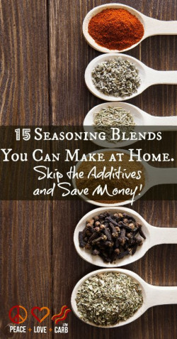 15 Seasoning Blends You Can Make At Home
