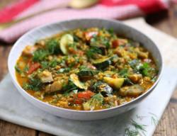 Persian Aubergine & Lentil Stew Recipe