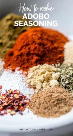 How to make adobo seasoning at home