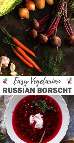 Easy Russian Borscht Soup