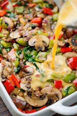 Make Ahead Veggie Breakfast Casserole Recipe