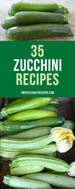35+ Zucchini Recipes (Sweet, Savory, and more)