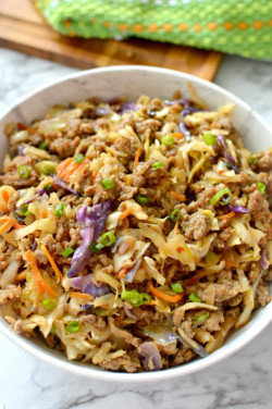 Low-Carb Easy To Make Egg Roll
