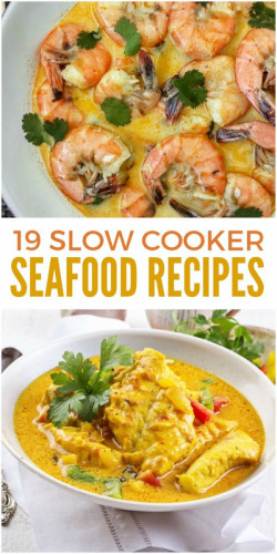 19 Slow Cooker Seafood Recipes