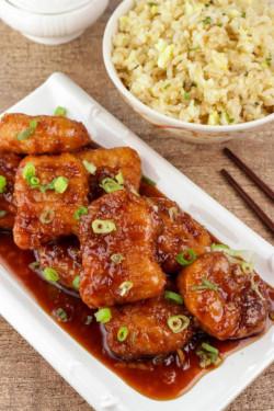 5 Ingredient Orange Chicken & Orange Chicken Sauce Recipe - Homemade Dinner