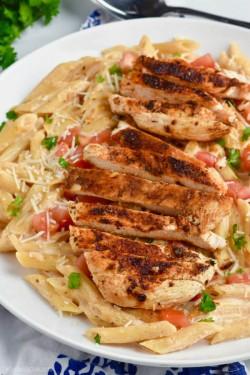 Creamy Cajun Chicken Pasta Recipe