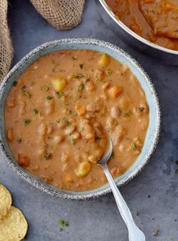 Mexican Pinto Bean Soup | Easy Stew Recipe