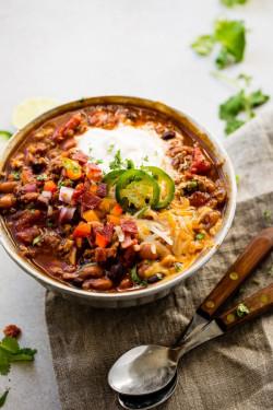 Award Winning Healthy Turkey Instant Pot Chili