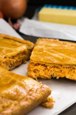 Brazilian Chicken Pie - Pastelão de Frango