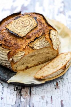 Overnight Sourdough Bread | No Knead, No Fold