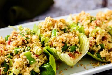 Green Bean & Couscous Salad
