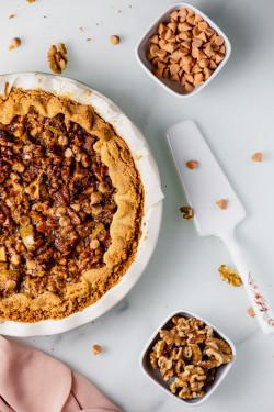 Butterscotch Cinnamon Pie