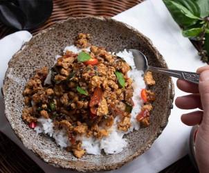 Vegan Thai Basil Stir Fry
