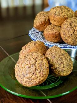 Easy, Savory, Vegan Cornbread Muffins